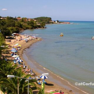 Corfu photos - Roda beach