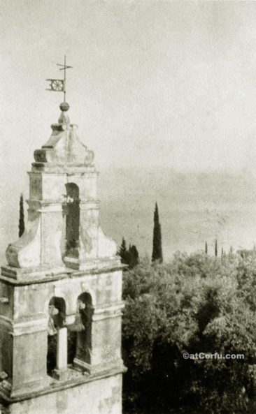 Benitses - San Stefano bell tower-1940