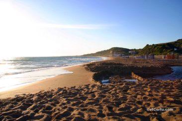 Corfu photos - Santa Barbara beach