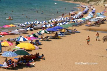 Corfu photos - Santa Barbara beach