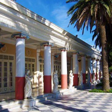 Corfu - Achilleion gardens