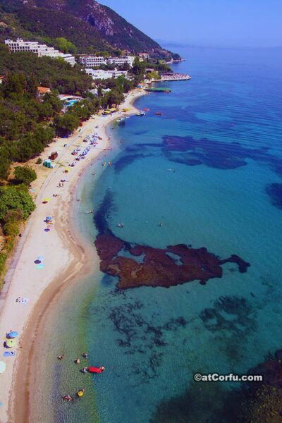 Beach at Agios Ioannis peristeron