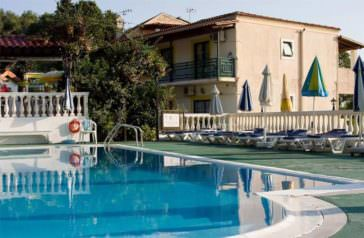 Andromache apartments in Corfu