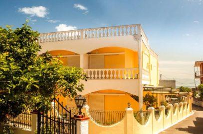 Hotel Bella vista in Corfu