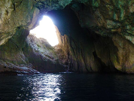 Cave at Othonoi