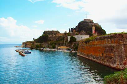 Corfu Old Fortress: A Natural Defensive Rock