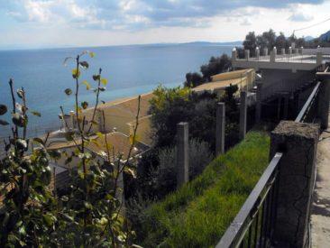 El Greco hotel in Benitses - verandas