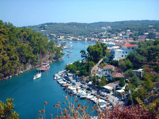 Gaios the capital of Paxos