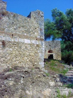 Gardiki fortress in Corfu