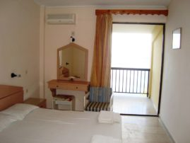 Karina hotel in Benitses-rooms