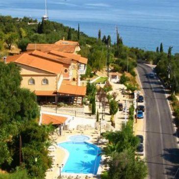 Lido Corfu sun hotel in Corfu