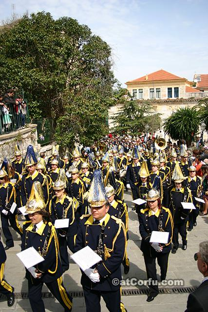 Corfu Easter - pictures of holy week