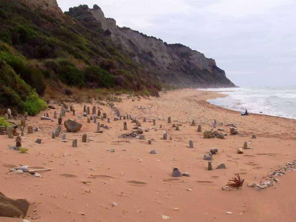 Megali Lakka beach