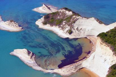 Cape Drastis at Peroulades Corfu