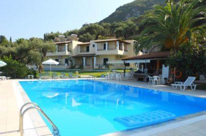 Rising sun apartments in Corfu