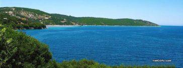 Roda beach Corfu