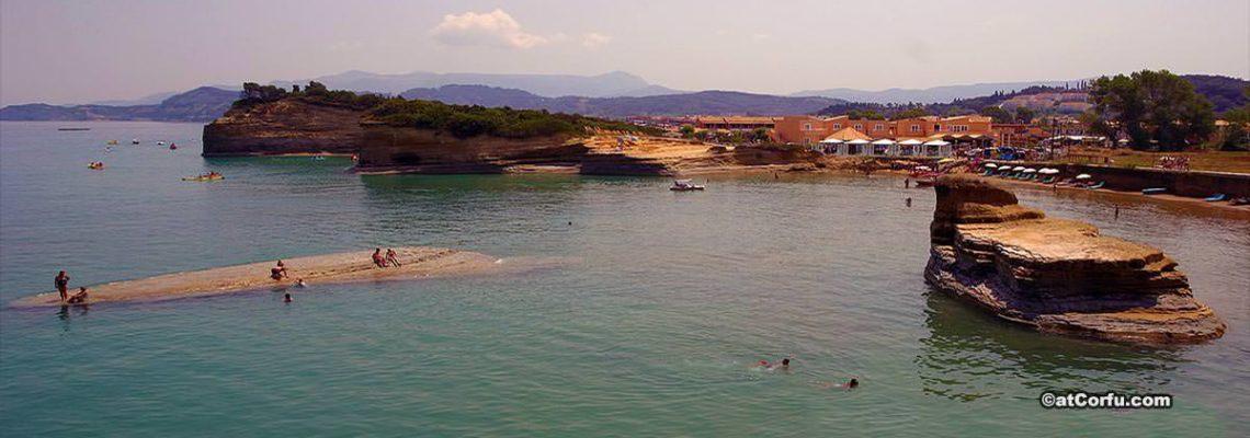 Sidari beach Corfu
