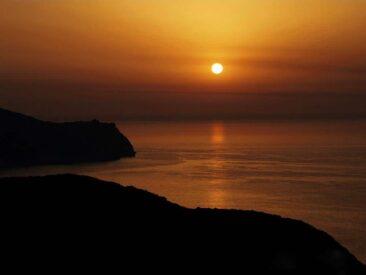 Sunset at Othonoi