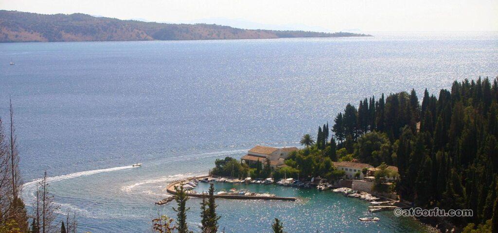 Kouloura at northeast Corfu