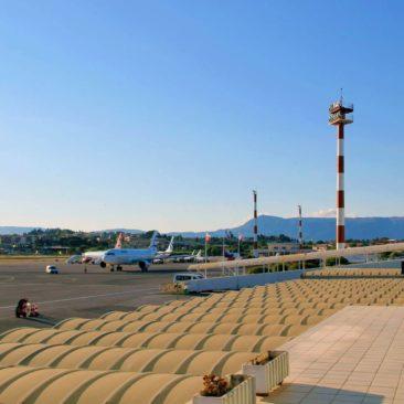 Corfu international airport