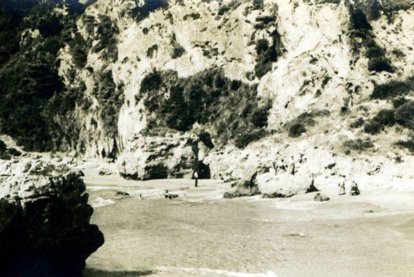 Myrtiotissa beach-1950
