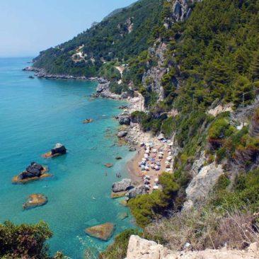 Myrtiotissa nudist beach Corfu