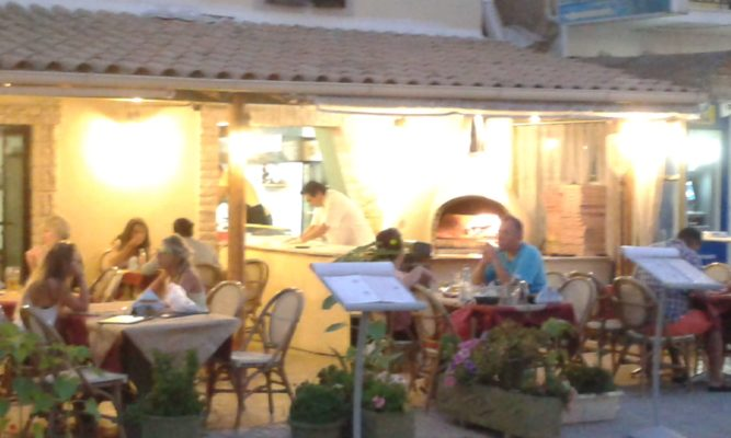 Kavouras pizza house Corfu