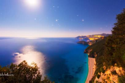 Beaches in Corfu - Stelari Liapades