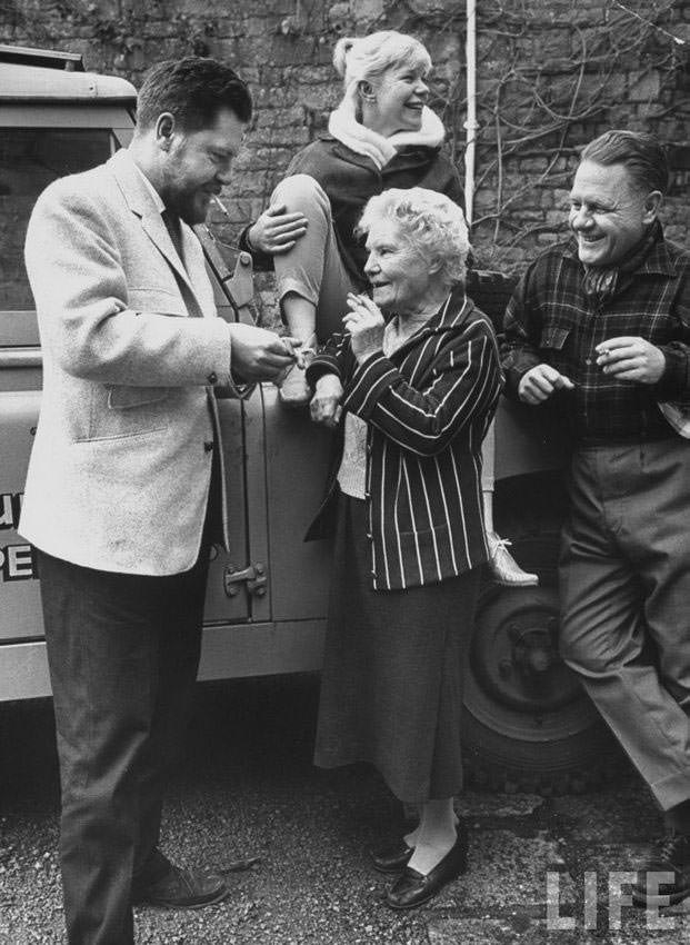 Louisa Florence with Gerald, Margo, and Lawrence Durrell