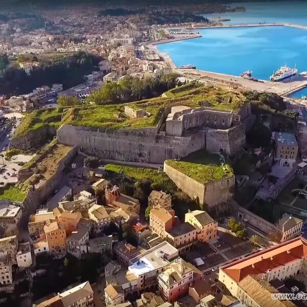 Corfu Breathtaking Views by Drone - Coast and Villages in 35 minutes