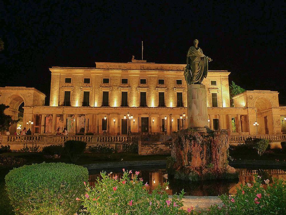 Corfu: St Michael and George Palace