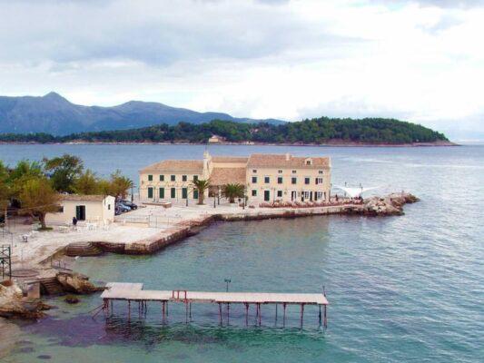 Corfu - Faliraki from the old fortress
