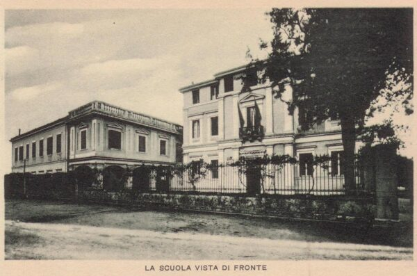 Skaramanga building - The Italian school in Corfu