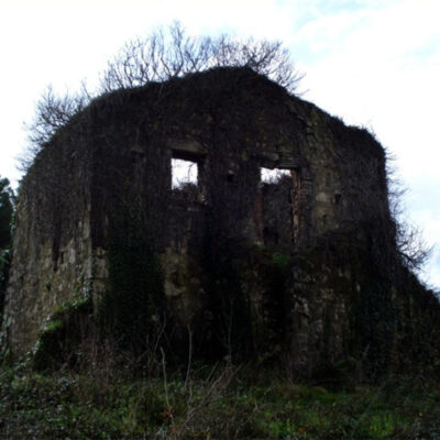 Old ruined noble house in Corfu