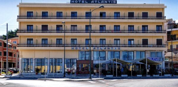 Atlantis hotel in Corfu