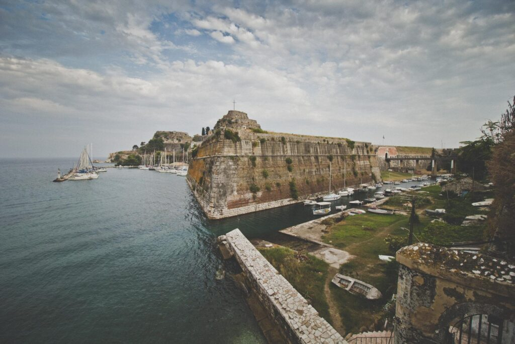 The Old Fortress of Corfu town