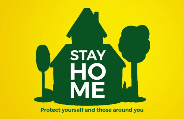 Stay Home - Leave Coronavirus out