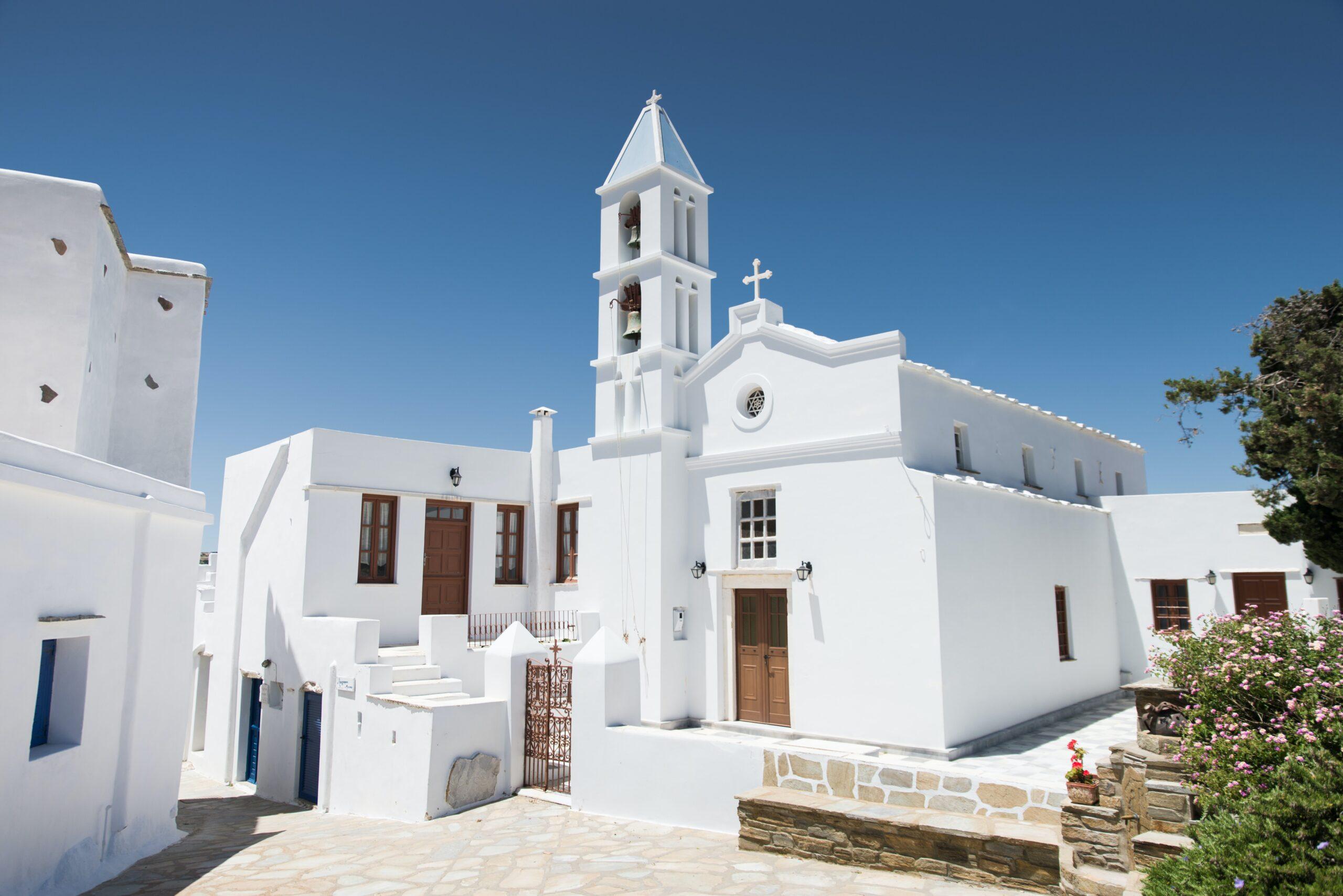 Tinos at Cyclades islands