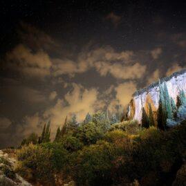 A Corfu night Landscape at Liapades