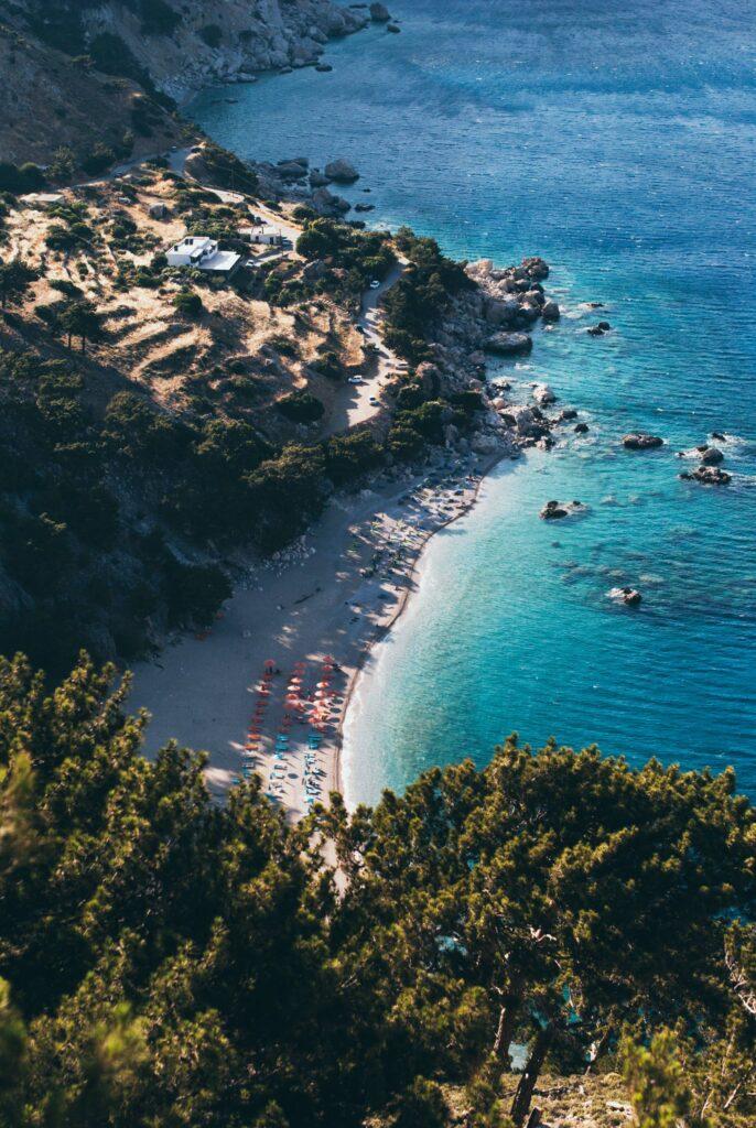 Apella beach in Karpathos