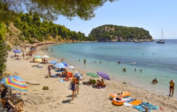 Stafylos beach in Skopelos