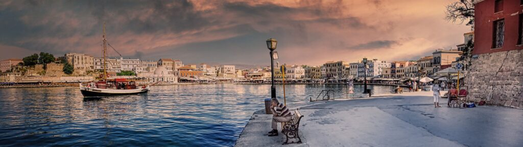 Port of Chania Crete