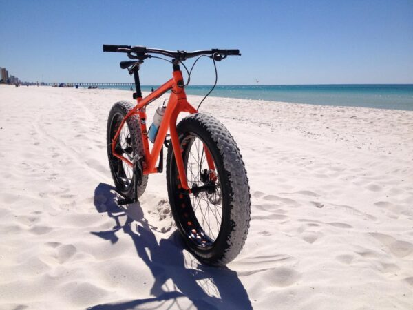 Bicycle on the beach
